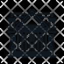 Line X White House Icon