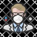 Avatar Pharmacist White Icon