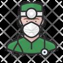 Avatar Surgeon White Icon