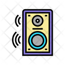 White Noise Noise Speaker Icon