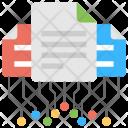 White Paper Blockchain Ico Icon