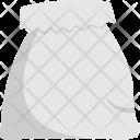 White Sack Bag Icon