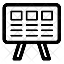White Stand Icon