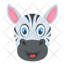 White Zebra Icon
