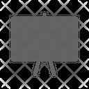 Whiteboard School Classroom Icon