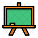 Whiteboard Board School Icon
