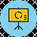 Whiteboard Graph Board Icon