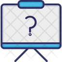 Whiteboard Question Question Mark Icon