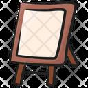 Art Board Easel Board Whiteboard Icon