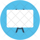 Whiteboard Chalkboard Blackboard Icon