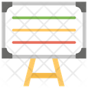 Whiteboard Writing Board Classroom Equipment Icon