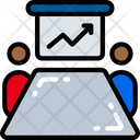 Whiteboard Meeting Icon