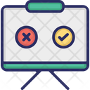 Whiteboard Review Icon