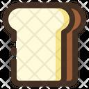 Whitebread Food Bread Icon