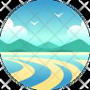 Whitsunday Islands Island Beach Icon