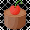 Whole Chocolate Cake Icon