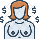 Whore Courtesan Prostitute Icon
