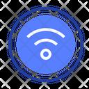 Button Wi Fi Icon