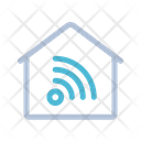 Wireless Communication Network Icon