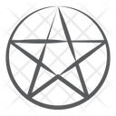 Wicca Pentagram Icon