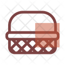 Autumn Basket Bushel Icon