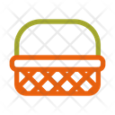 Wicker Basket Icon