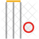 Wicket Cricket Game Icon