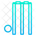 Stumps Bells Ball Icon