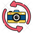 Wide Angle Camera Camcorder Photography Equipment Icon