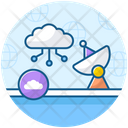 Wide Area Network Cloud Computing Cloud Network Icon