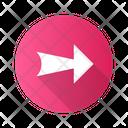 Arrow Wide Line Icon