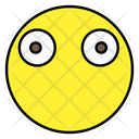 Wide Eyes Emoji Emoticon Emotion Icon