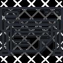 Wide Printer Icon