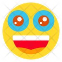 Wide Smiley Face Icon
