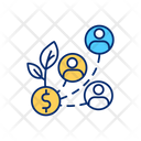 Wide Talent Pool Icon