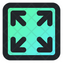 Width Vector Size Icon