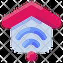 Wifi Internet House Icon
