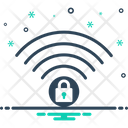 Wifi Security Firewall Icon