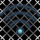 Wifi Button Signal Icon