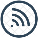Social Wifi Signals Icon