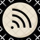 Social Wifi Signals Icon