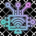 Wireless Computer Internet Icon