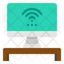 Wifi Computer Screen Icon