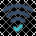 Wireless Wifi Success Icon
