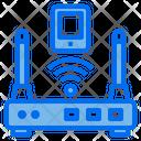 Router Wifi Smartphone Icon