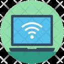 Wifi Connection Laptop Icon