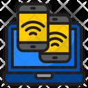 Wifi Laptop Communication Icon