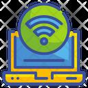 Wifi Computer Web Icon