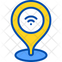 Wifi Location Place Icon