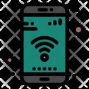Wifi Mobile Phone Icon
